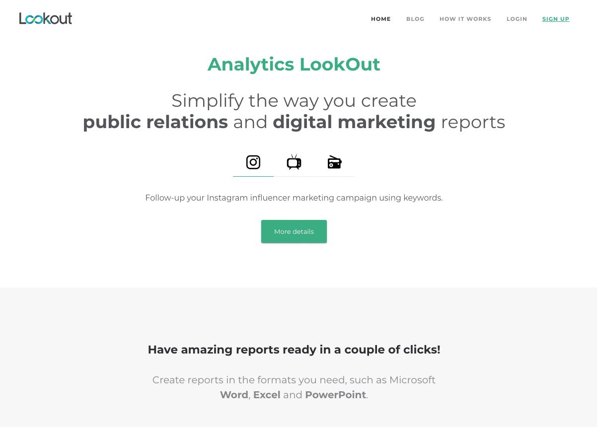 Proyecto Analytics LookOut