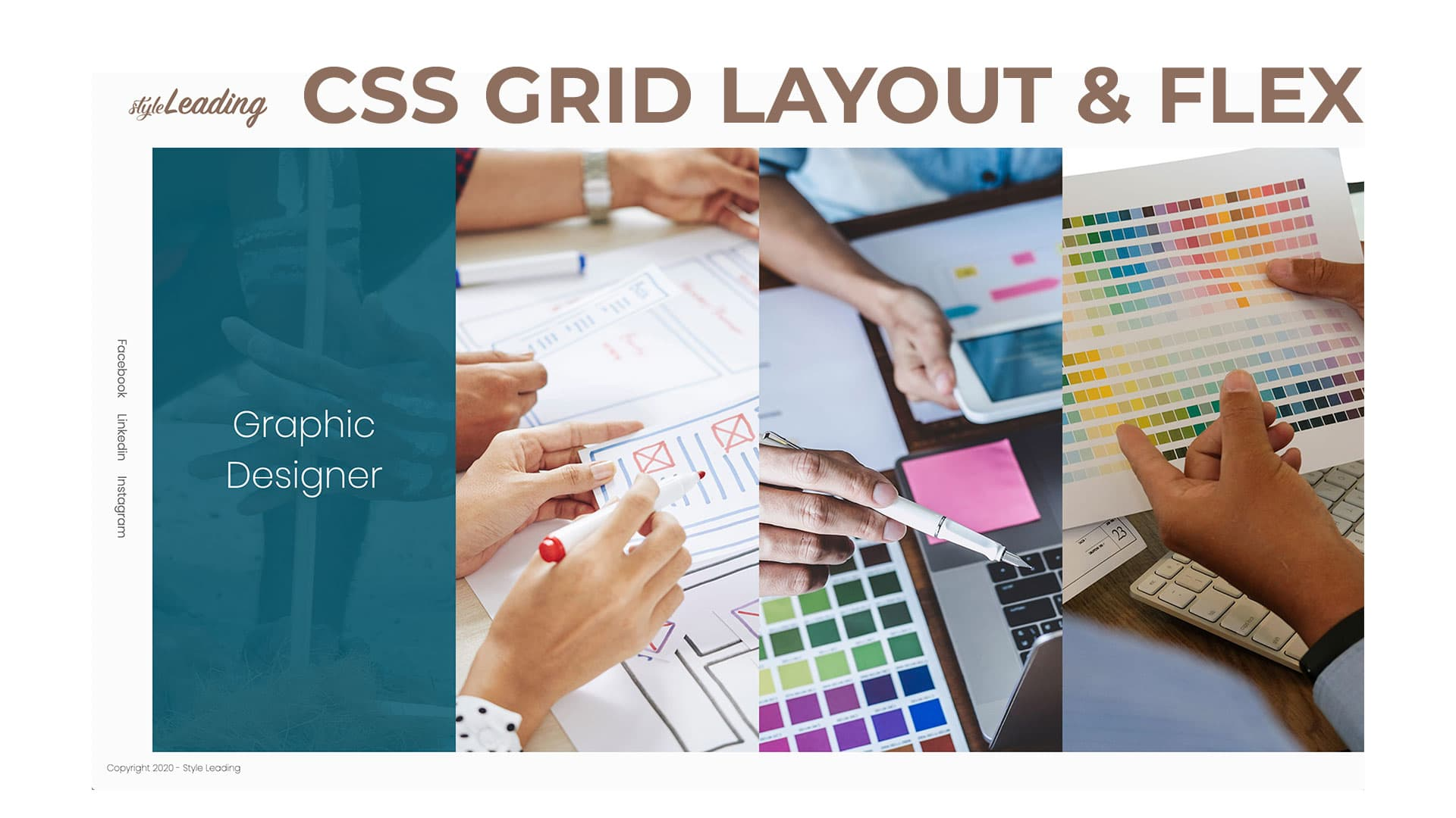 Proyecto con CSS Grid, Flex y media queries