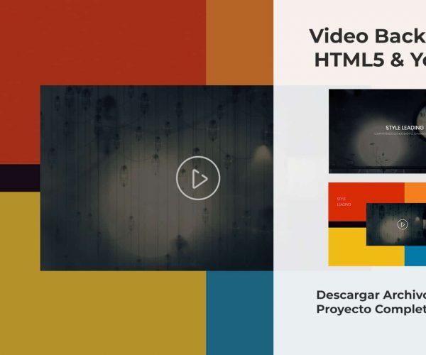 Video Background con HTML5